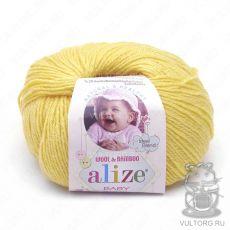 Пряжа Baby Wool Ализе, цвет № 187 (Лимонный)