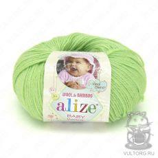 Пряжа Alize Baby Wool, цвет № 41 (Ментол)