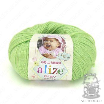 Пряжа Baby Wool Ализе, цвет № 41 (Ментол)