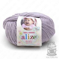 Пряжа Baby Wool Ализе, цвет № 52 (Талая вода)