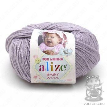 Пряжа Alize Baby Wool, цвет № 52 (Талая вода)