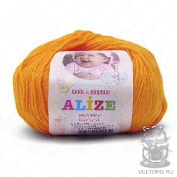 Пряжа Alize Baby Wool, цвет № 14 (Желток)