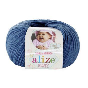 Пряжа Baby Wool Ализе, цвет № 279 (Джинс)