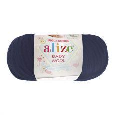 Пряжа Alize Baby Wool, цвет № 58 (Темно-синий)