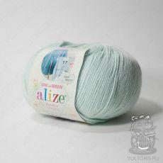 Пряжа Alize Baby Wool, цвет № 522 (Мята)