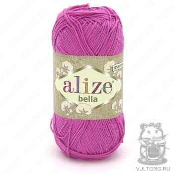Пряжа Bella Ализе, цвет № 489 (Ярко-розовый)