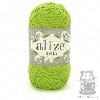 Пряжа Bella Ализе, цвет № 612 (Салатовый)