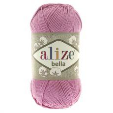 Пряжа Bella Ализе, цвет № 198 (Темно-розовый)