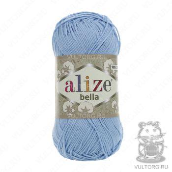 Пряжа Bella Ализе, цвет № 40 (Голубой)