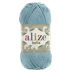 Пряжа Bella Ализе, цвет № 462 (Лазурный)
