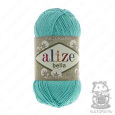 Пряжа Bella Ализе, цвет № 477 (Бирюзовый)