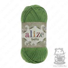 Пряжа Bella Ализе, цвет № 492 (Зелёный)