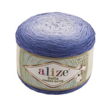 Пряжа Bella Ombre Batik Ализе, цвет № 7407