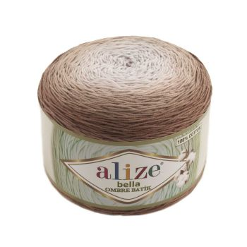 Пряжа Alize Bella Ombre Batik, цвет № 7410