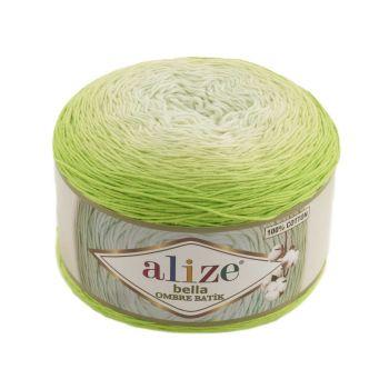 Пряжа Bella Ombre Batik Ализе, цвет № 7412