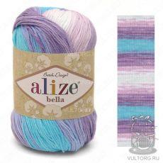 Пряжа Bella batik Ализе, цвет № 3677