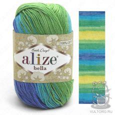 Пряжа Alize Bella batik, цвет № 4150