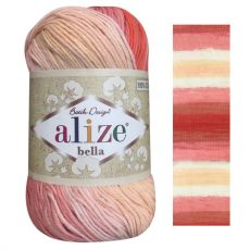 Пряжа Alize Bella batik, цвет № 7104