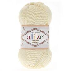 Пряжа Cotton Gold Hobby Ализе, цвет № 01 (Молочный)