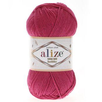 Пряжа Alize Cotton Gold Hobby, цвет № 149 (Фуксия)