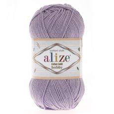 Пряжа Alize Cotton Gold Hobby, цвет № 166 (Лиловый)