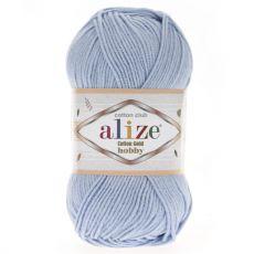 Пряжа Cotton Gold Hobby Ализе, цвет № 40 (Голубой)