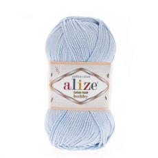 Пряжа Alize Cotton Gold Hobby, цвет № 513 (Светло-голубой)