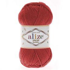 Пряжа Cotton Gold Hobby Ализе, цвет № 56 (Красный)