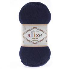 Пряжа Cotton Gold Hobby Ализе, цвет № 58 (Темно-синий)