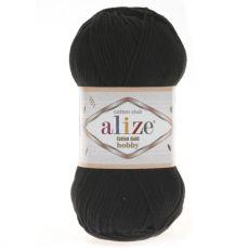 Пряжа Alize Cotton Gold Hobby, цвет № 60 (Черный)