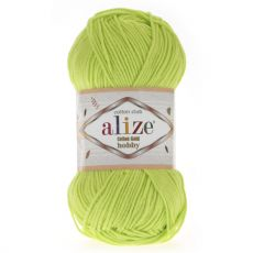 Пряжа Alize Cotton Gold Hobby, цвет № 612 (Кислотный)