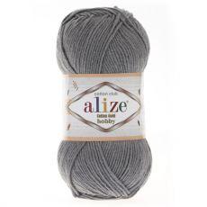Пряжа Alize Cotton Gold Hobby, цвет № 87 (Угольный серый)