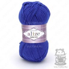 Пряжа Alize Cotton Gold, цвет № 141 (Василёк)