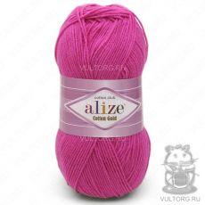 Пряжа Cotton Gold Ализе, цвет № 149 (Фуксия)