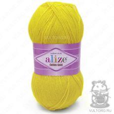 Пряжа Cotton Gold Ализе, цвет № 110 (Жёлтый)