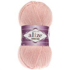 Пряжа Cotton Gold Ализе, цвет № 393 (Светло-розовый)