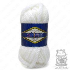 Пряжа Country New Ализе, цвет № 55 (Белый)