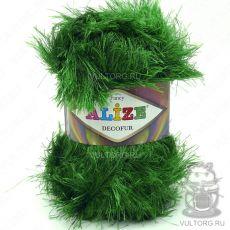 Пряжа Decofur Ализе, цвет № 595 (Зелёный)