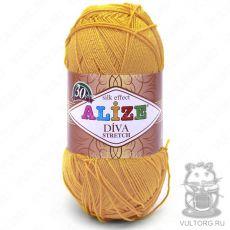 Пряжа Alize Diva Stretch, цвет № 488 (Жёлтый)