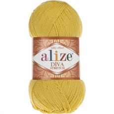 Пряжа Alize Diva Stretch, цвет № 109 (Лайм)