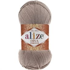 Пряжа Alize Diva Stretch, цвет № 167 (Бежевый)