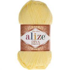 Пряжа Alize Diva Stretch, цвет № 643 (Лимон)