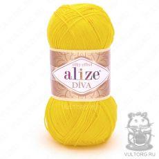 Пряжа Alize Diva, цвет № 110 (Цыпленок)
