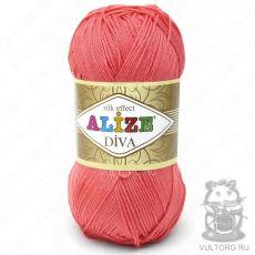 Пряжа Diva Ализе, цвет № 661 (Гвоздика)