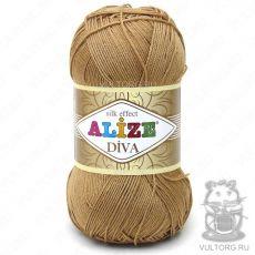 Пряжа Diva Ализе, цвет № 369 (Карамель)
