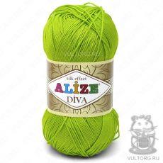 Пряжа Diva Ализе, цвет № 612 (Кислотный)