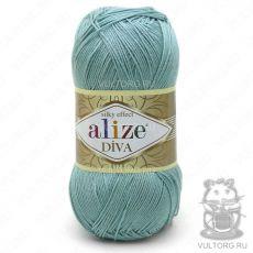 Пряжа Diva Ализе, цвет № 463 (Мята)