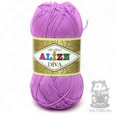 Пряжа Diva Ализе, цвет № 378 (Орхидея)
