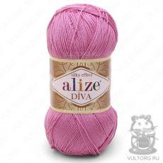 Пряжа Diva Ализе, цвет № 178 (Розовый)