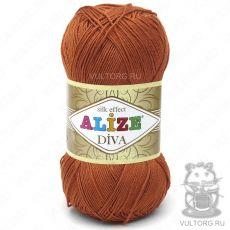 Пряжа Diva Ализе, цвет № 36 (Терракот)